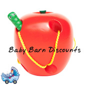 Fun Factory Wooden Lacing / Threading Apple