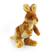 Korimco Jackie the Kangaroo Soft Plush Toy 27cm