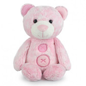 Korimco Patches the Bear Soft Plush Teddy Bear Small 30cm - PINK