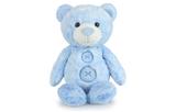 Korimco Patches the Bear Soft Plush Teddy Bear Small 30cm - BLUE