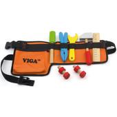 VIGA Wooden DIY Tool Belt With Tools Set