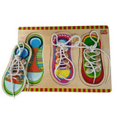 Fun Factory Wooden Shoe Lace Puzzle with Knobs
