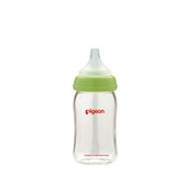 Pigeon SofTouch Peritaltic Plus Glass Milk Bottle Wide Neck 160ml