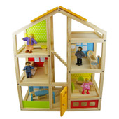 Tooky Toy Wooden Doll House