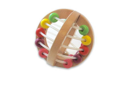 Discoveroo Wooden Play Beads Ball