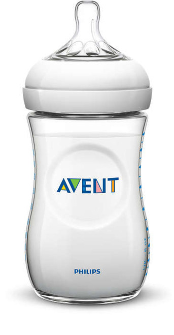 Avent Natural 260ml Feeding Bottle