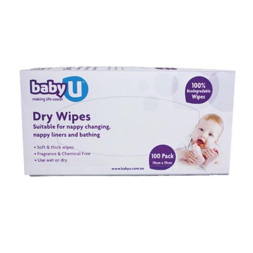 Baby U Dry Wipes 100 pcs