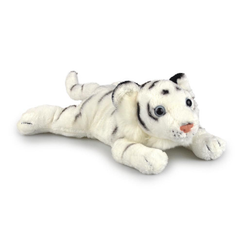 Korimco Tiger Conga Cubs Plush Toy 30cm - WHITE