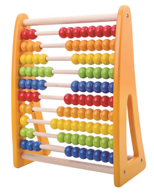 Tooky Toy Wooden Beads Abacus