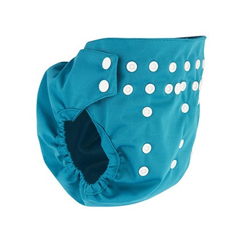 Pea Pods Nappy Pilchers - Aqua
