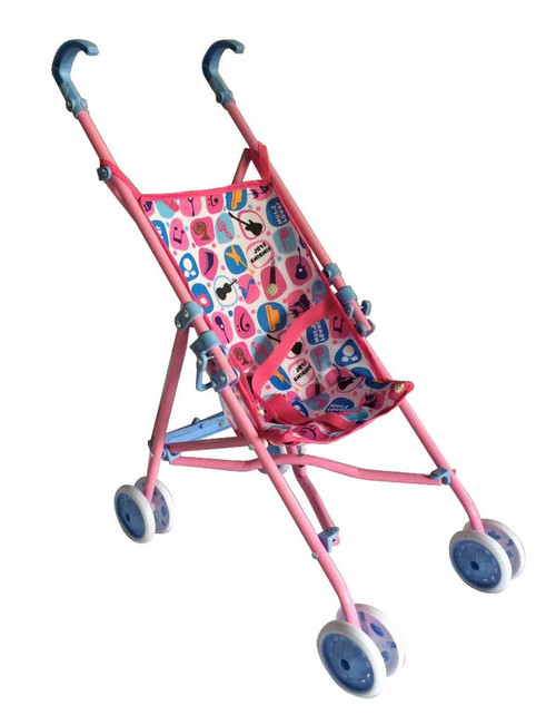 Monarch Toy Umbrella Doll Stroller for Pretend Play