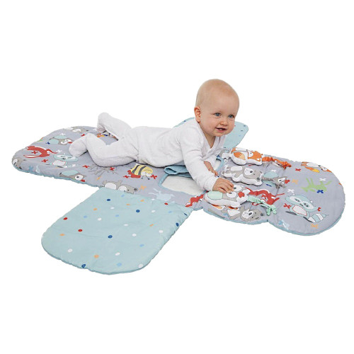 Playette 3 in 1 Shopping Trolley Cover and Play Mat