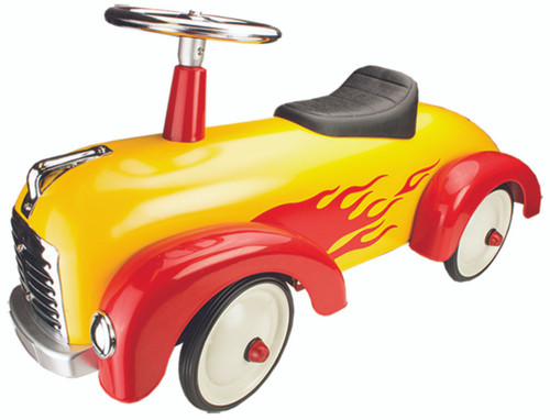 Johnco Metal Speedster Yellow