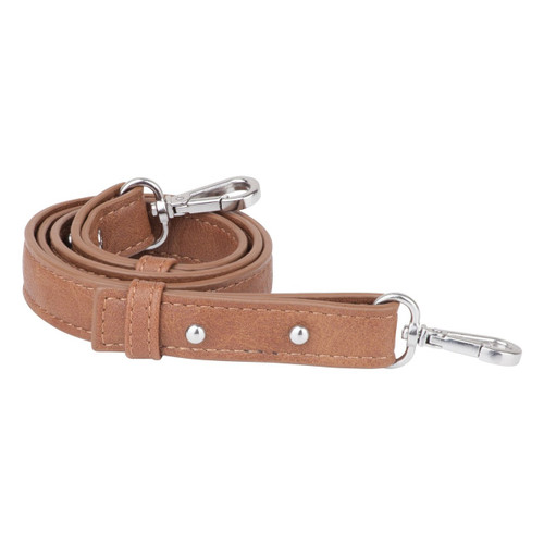 Vanchi Pram Caddy Shoulder Strap - TAN