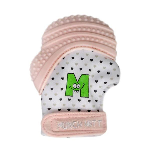 Malarkey Kids Munch Mitten - PASTEL PINK