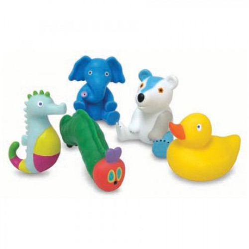 The Very Hungry Caterpillar Bath Squirties 5 pack