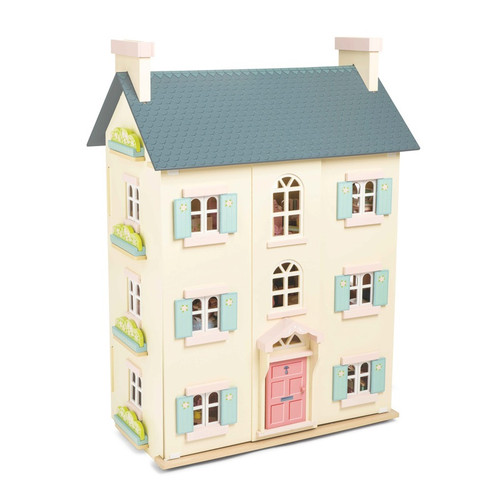 Le Toy Van Cherry Tree Hall 4 Storey Doll House