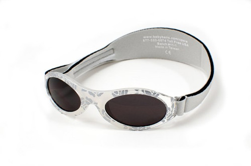 Baby Banz Adventure Baby Sunnies - SILVER LEAVE