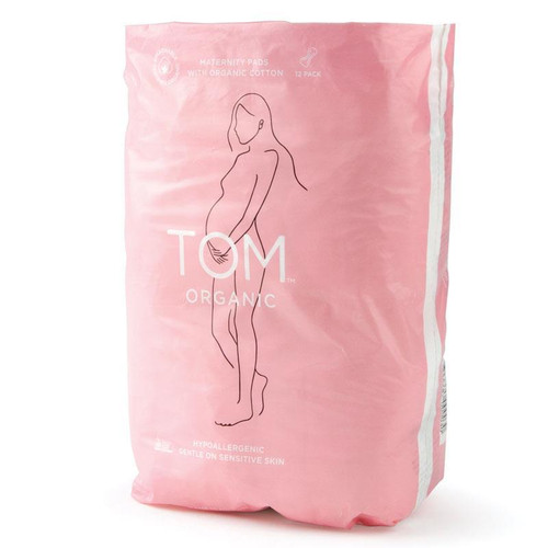TOM Organic Maternity Pads 12 Pack