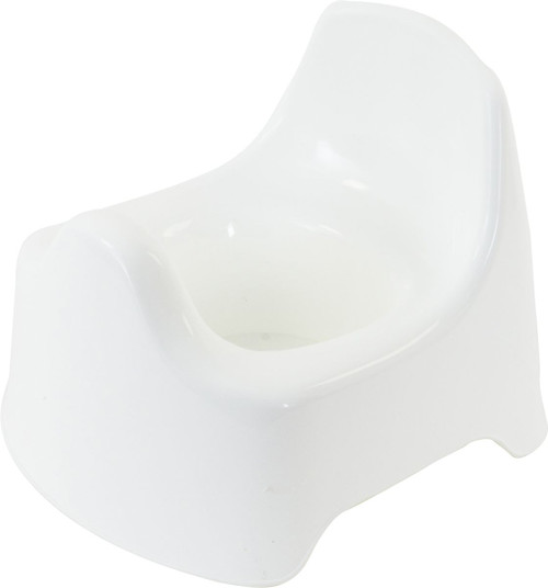 InfaSecure Deluxe High Back Potty White