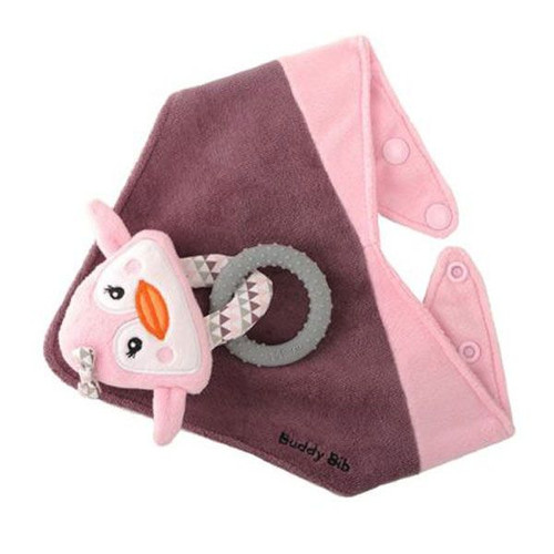 Malarkey Buddy Bib - PINKY PENGUIN
