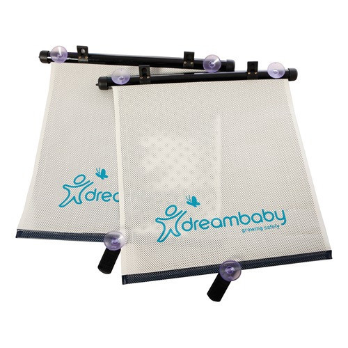 Dreambaby 2 Pack Adjustable Car Shade