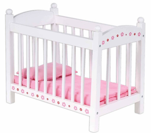 Bubbadoo Wooden Doll Bed