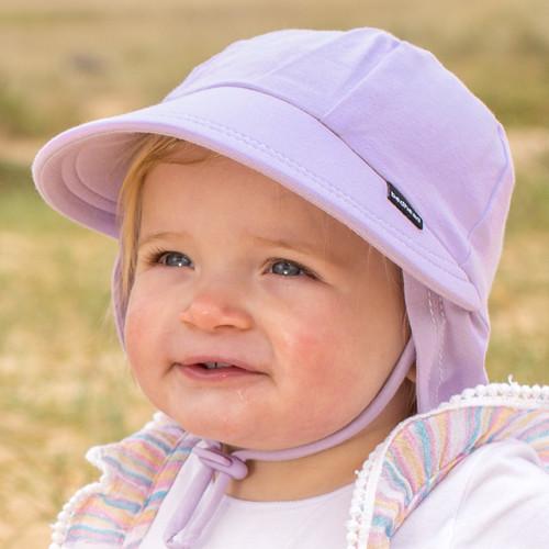 Bedhead UPF 50 Legionnaire Baby Hat - Lilac