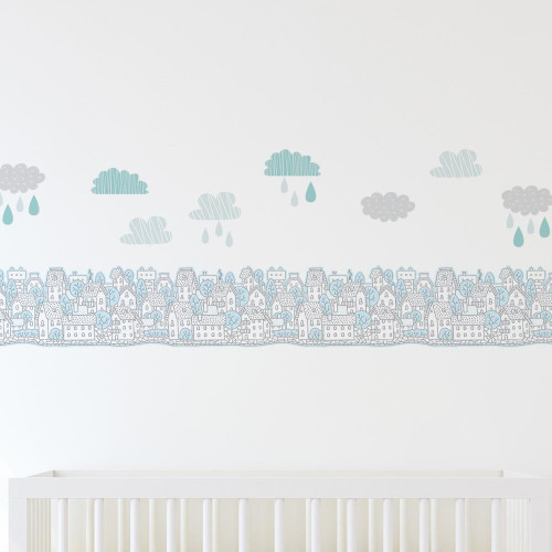 Lolli Living Decorative Wall Decal Set My City