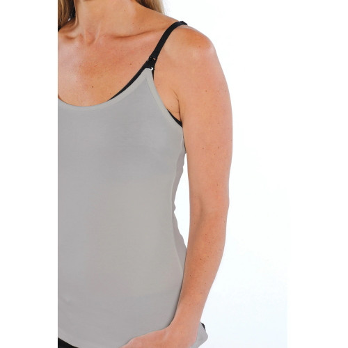 Inspired Mother Nursing Cami Grey at Baby Barn Discounts  This Nursing Cami is a very practical maternity accessory.