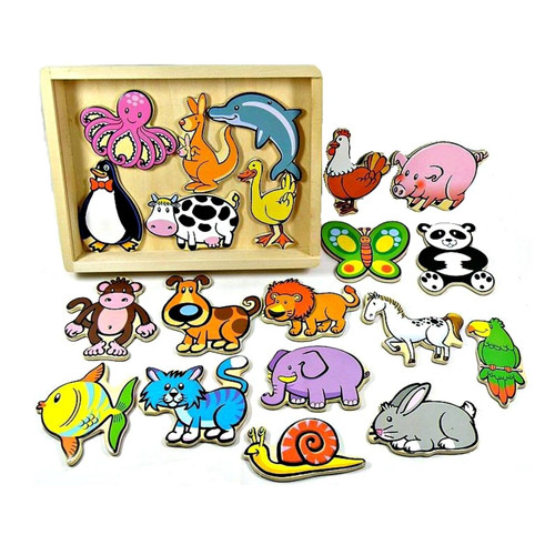 Fun Factory 20pcs Magnetic Animals