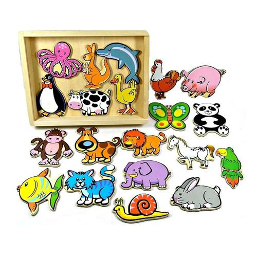 Fun Factory 20pcs Magnetic Animals