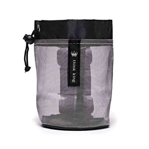 Think King Soft Buggy Cup Black Silver