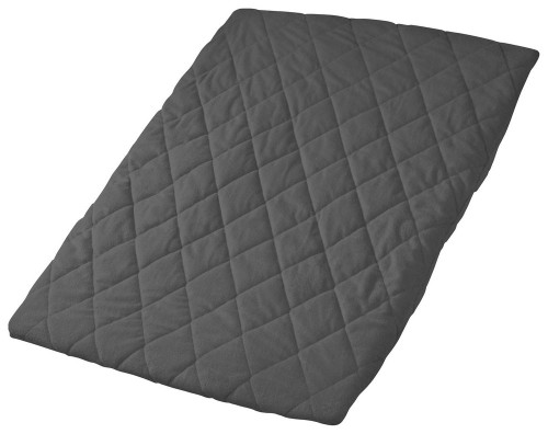 Playette Quilted Travel Cot Sheet - CHARCOAL