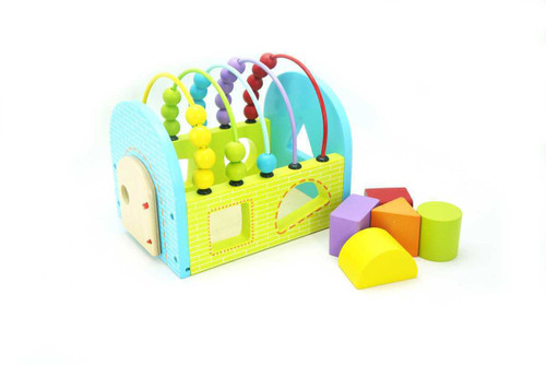Kaper Kidz Block House With Abacus