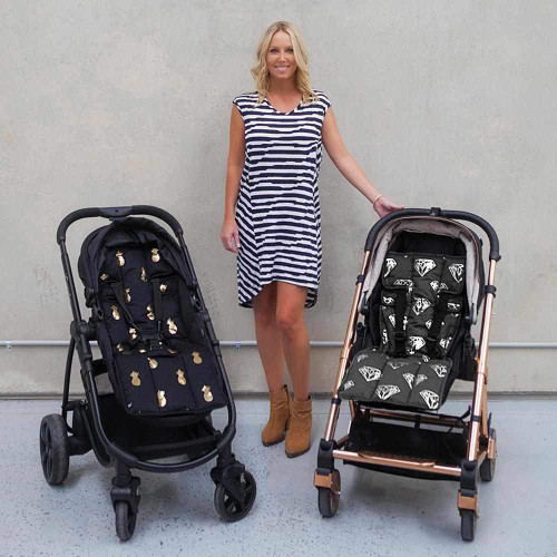 Outlook Get Foiled Universal Cotton Pram Liner