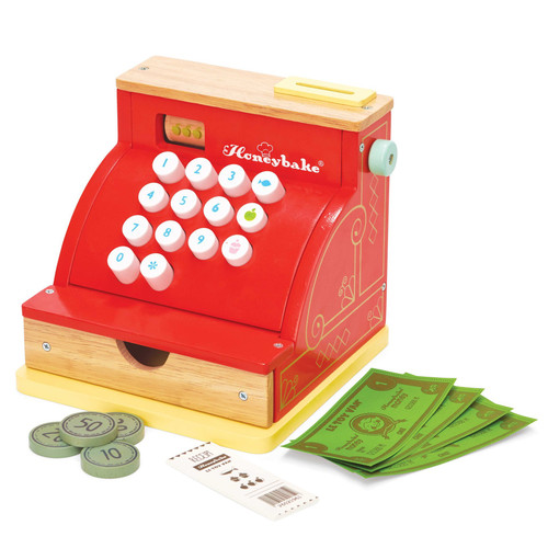 Le Toy Van Wooden Cash Register