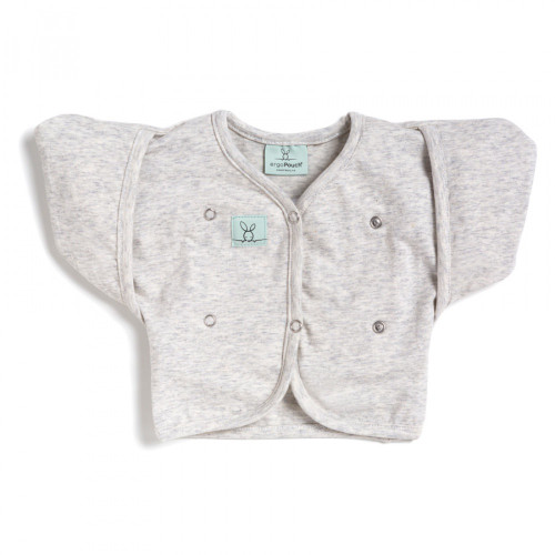 Ergopouch Butterfly Cardi 2-6months - GREY MARLE