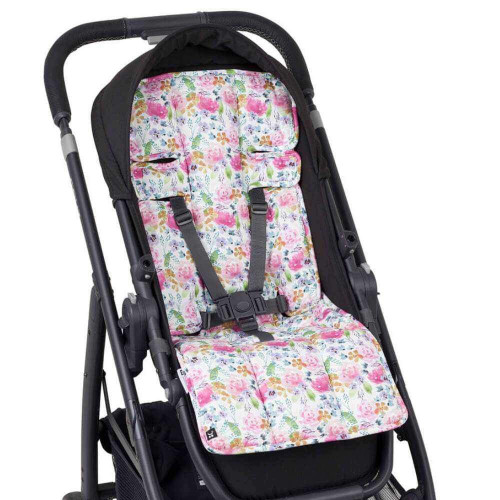 Outlook Artist Edition Cotton Pram Liner - FLORAL DELIGHTS