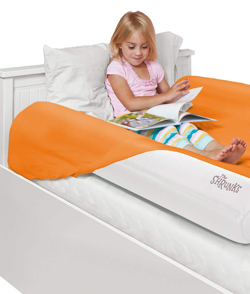 The Shrunks Inflatable Bed Rail with foot Pump