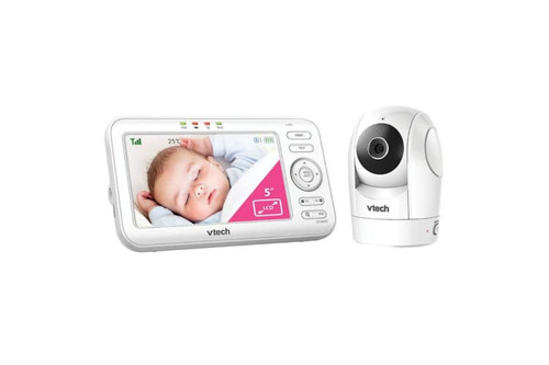 Vtech BM5500 Digital Baby Monitor Pan & Tilt Video Audio Monitor