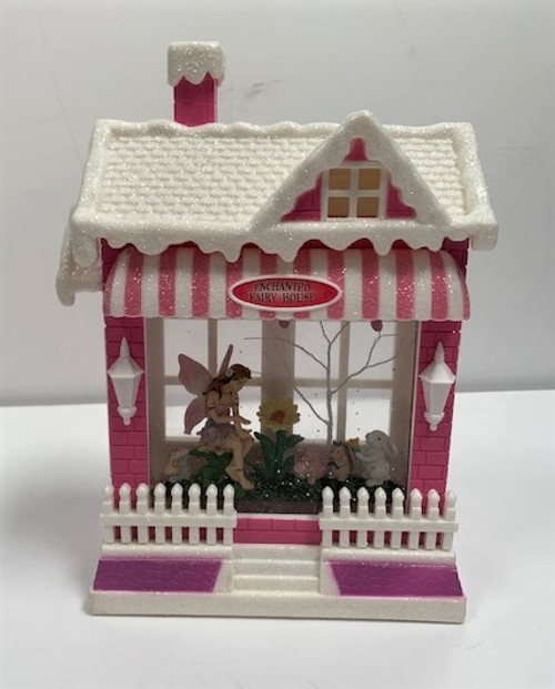 Chloes Garden Enchanted Fairy House  front