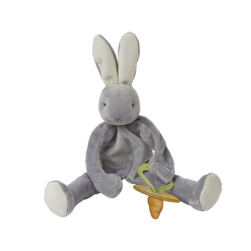 Bunnies by the Bay Silly Buddy Dummy Holder GREY | Baby Barn Discounts Bunnies by the Bay Silly Buddy is the perfect gift for your wee one with multiple ways to soothe.