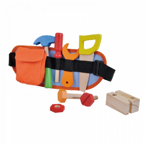 ToysLink Wooden Tool Belt at Baby Barn Discounts Adjustable tool belt and wooden tools, great for hand eye coordination and imaginative play.