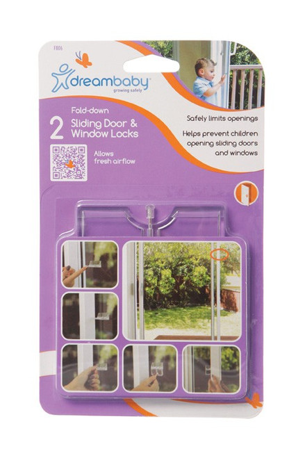 Dreambaby 2 Sliding Door & Window Locks