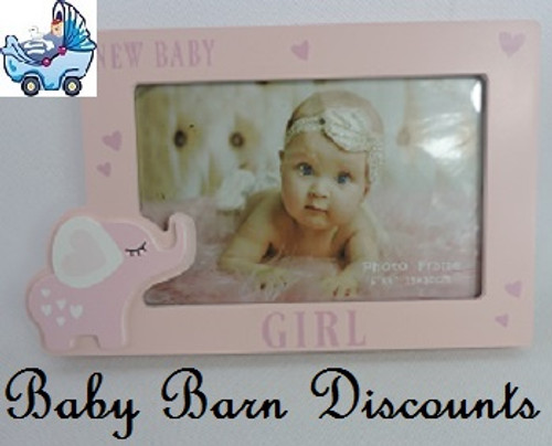 New Baby Girl Photo Frame