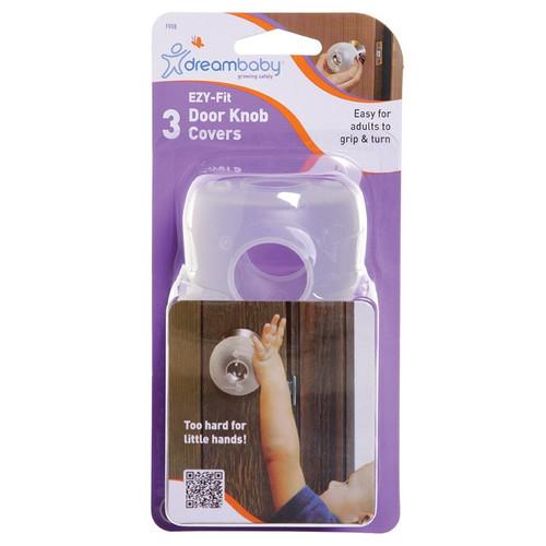 Dreambaby EZY-Fit Door Knob Cover 3 Pack