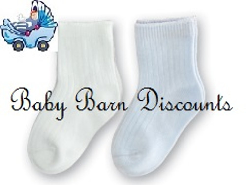 Playette - Bamboo Socks - Boys - 0-6 Months