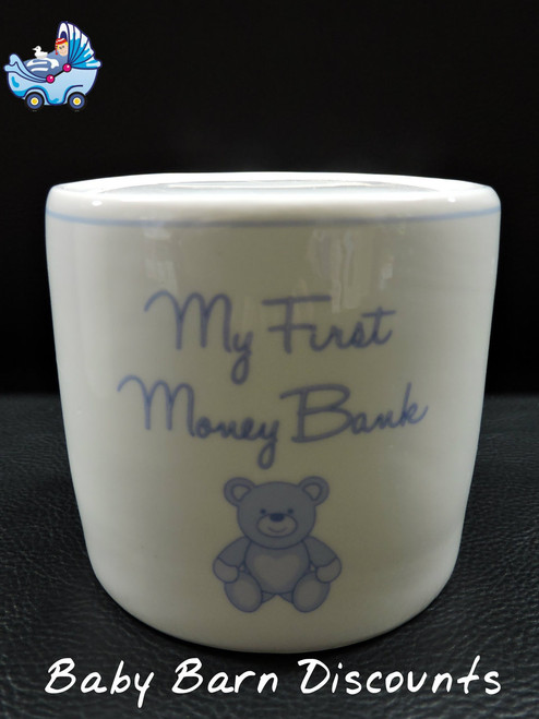 Carte Blanche - My First Money Bank Teddy - Blue