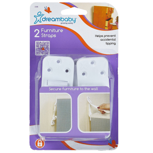 Dreambaby Furniture Wall Strap 2 Pack